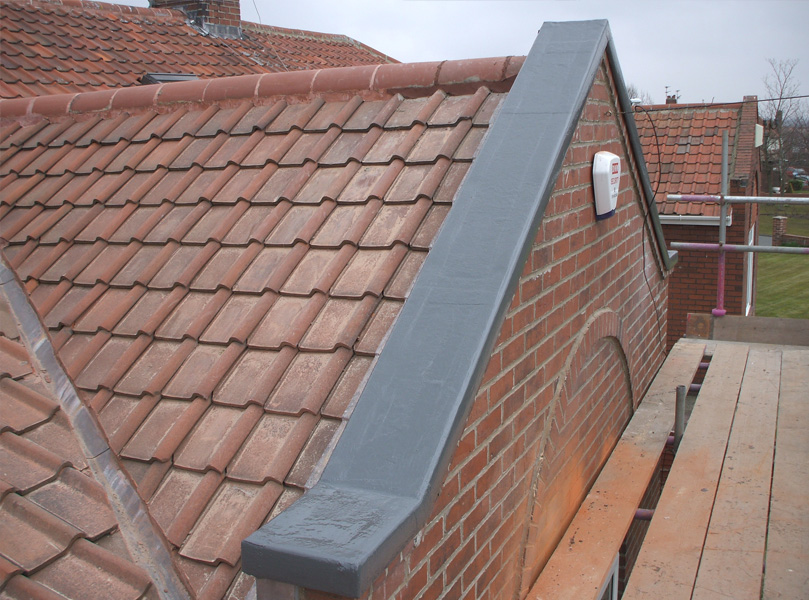 Fibre glass roof coverings g r p a wales for Roof covering materials